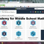 Khan Academy for Middle School Math (Part 2)