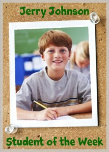 Jerry Johnson Student Of The Week